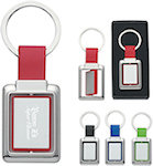 Rectangle Metal Spinner Key Tags